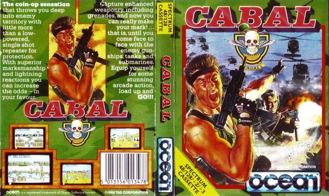 cabal spectrum cassette inlay