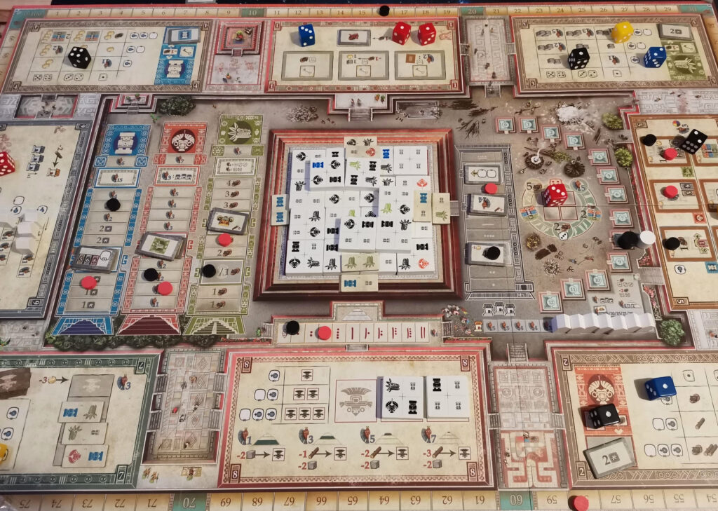 A game of teotihuacan in action