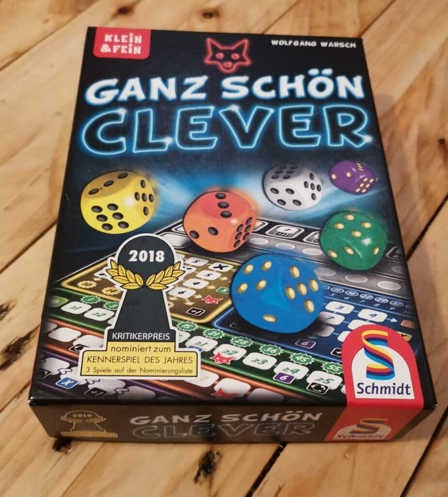the box for ganz schon clever