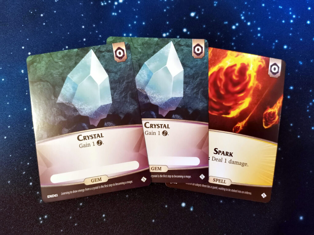 gem and spell cards