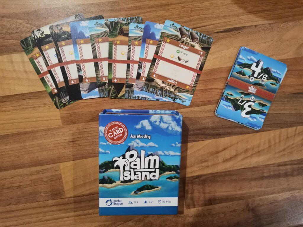 Palm Island box contents