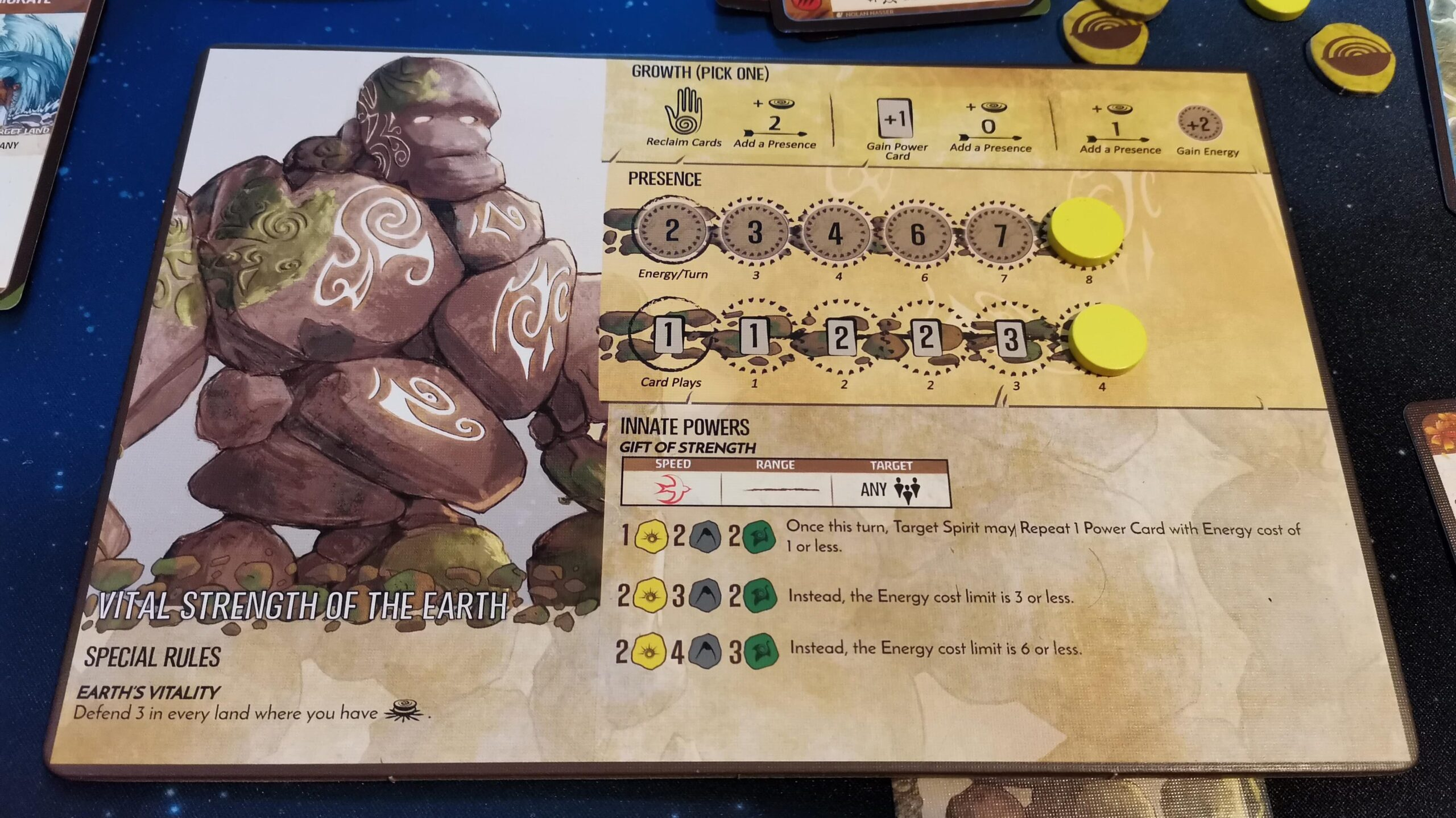 spirit island player board