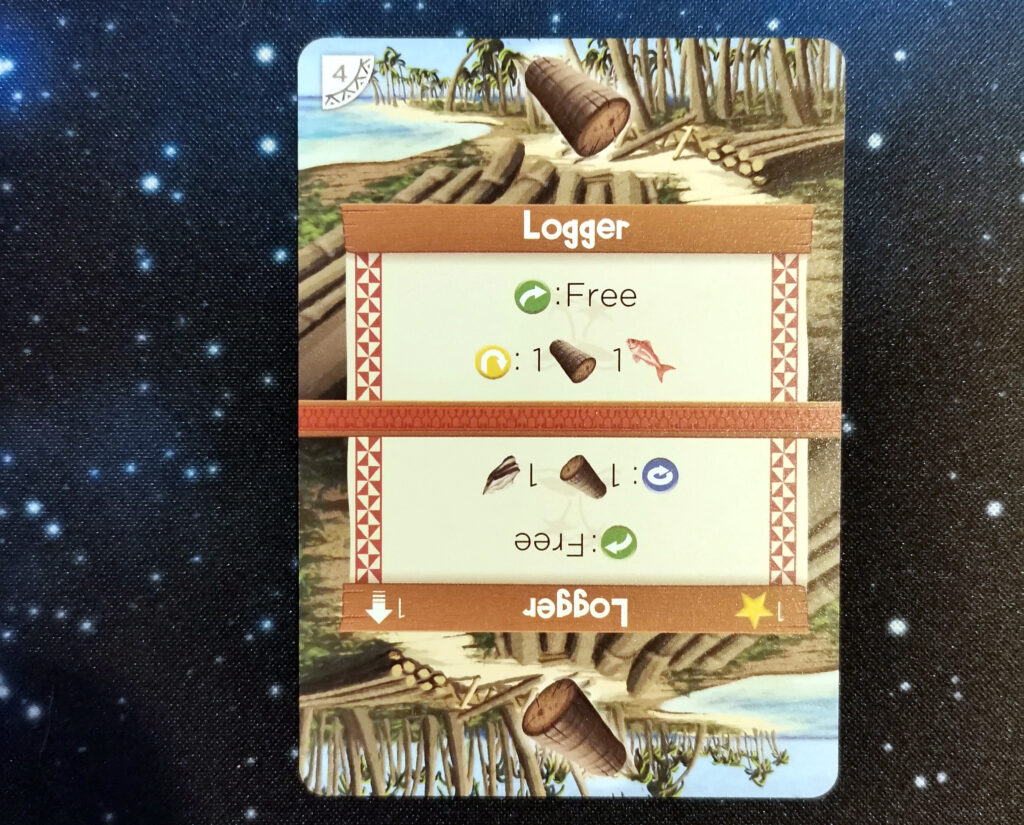 the Logger card from the game