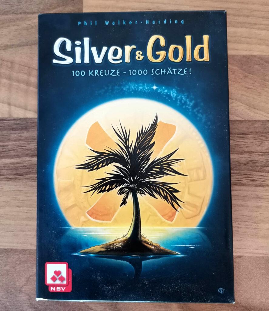 Silver & Gold box