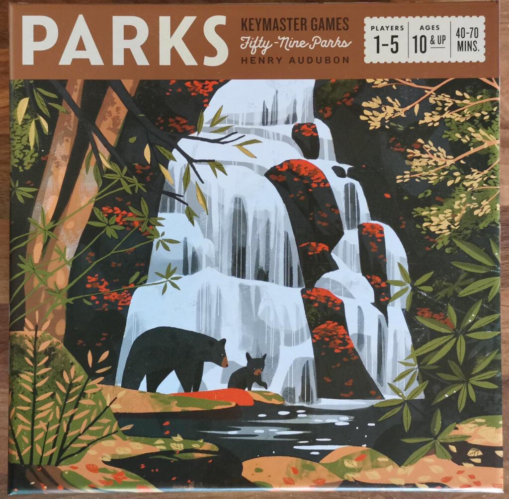 parks box art