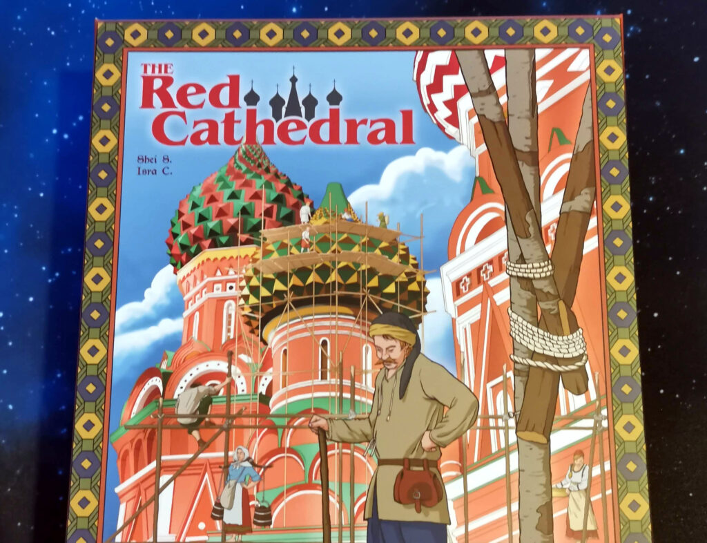 the red cathedral box art