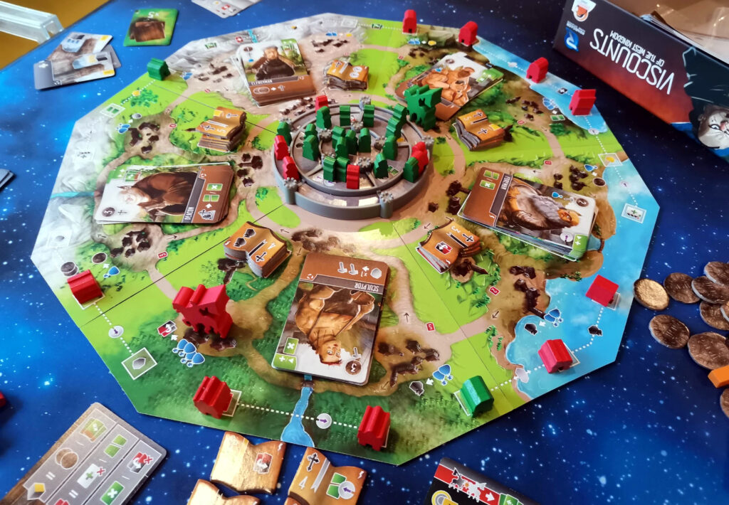 Viscounts board in-game