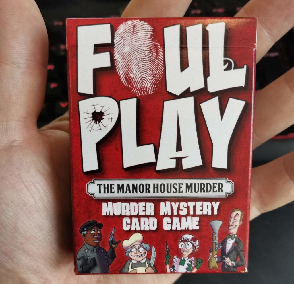 the foul play card box
