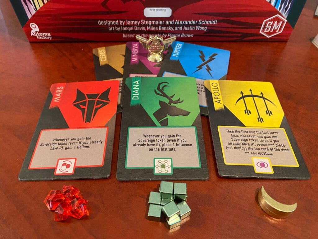 resources and tiles from the game