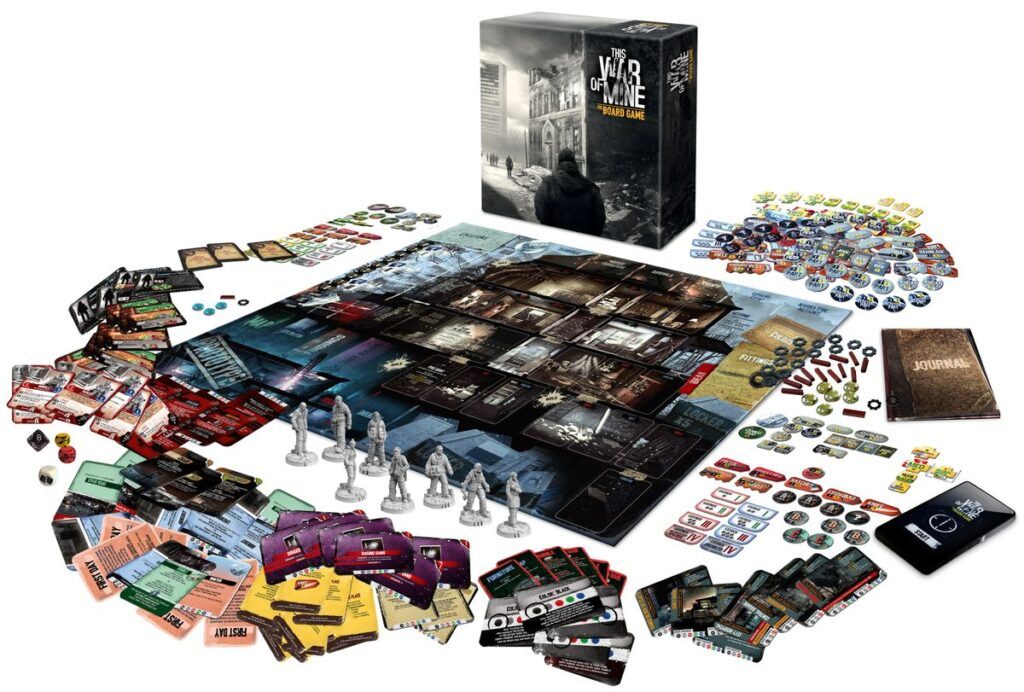 this war of mine board game contents