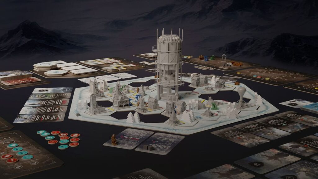 frostpunk the board game