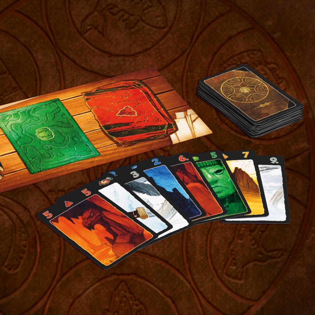 lost cities cards and board