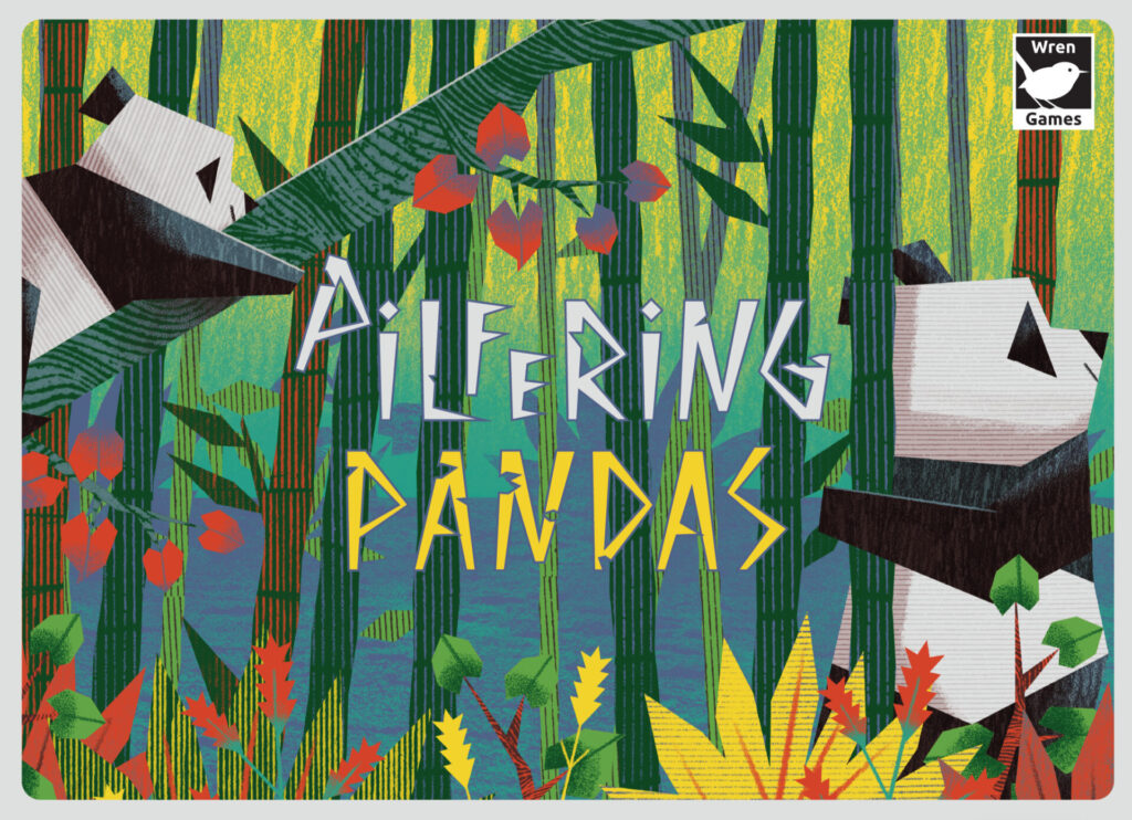 pilfering pandas box art