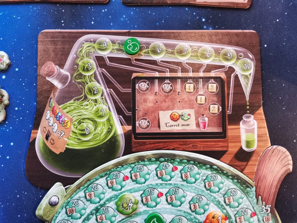 quacks alchemists flask board