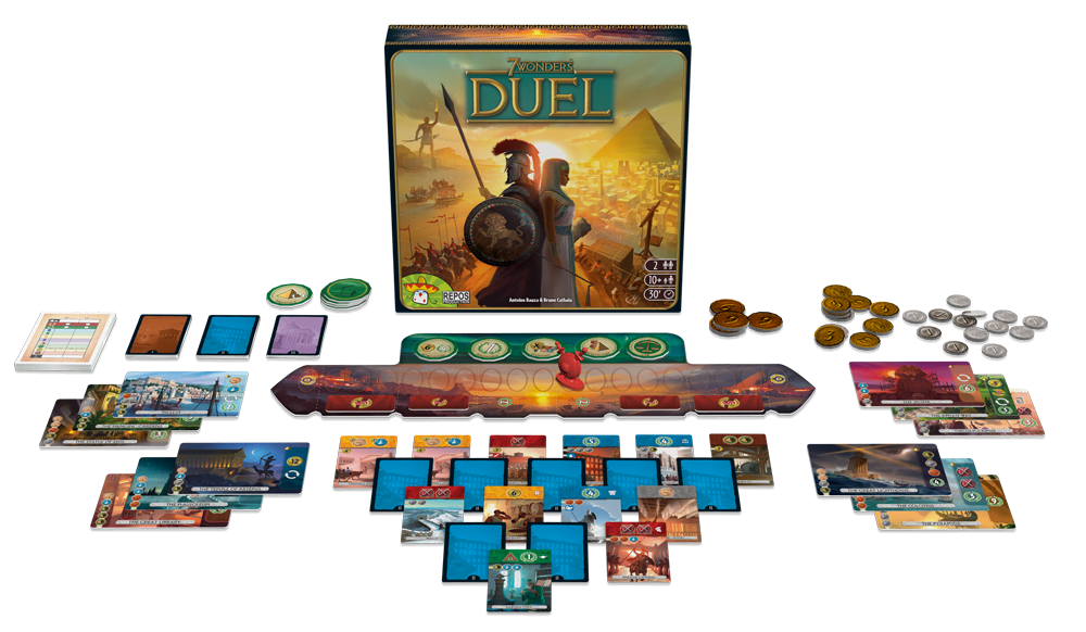 7 wonders duel setup