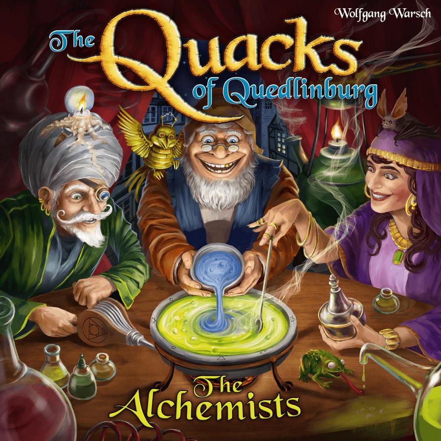 alchemists box art