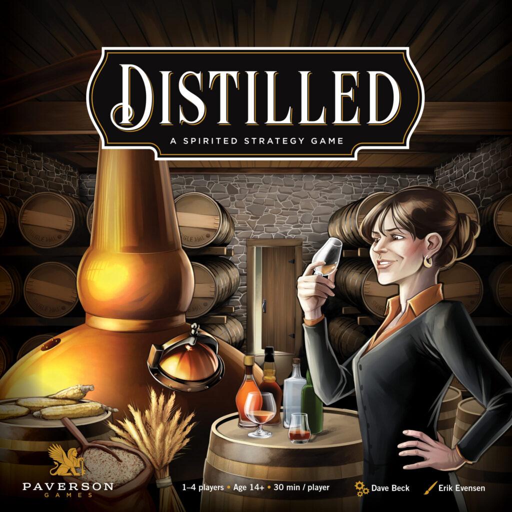 distilled box art