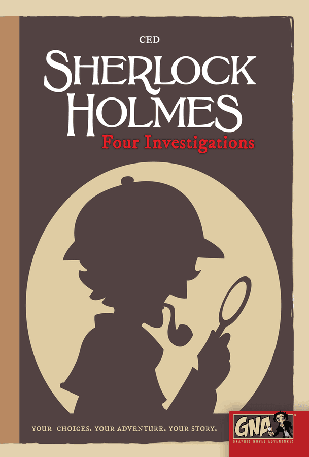 sherlock holmes four investigations book cover