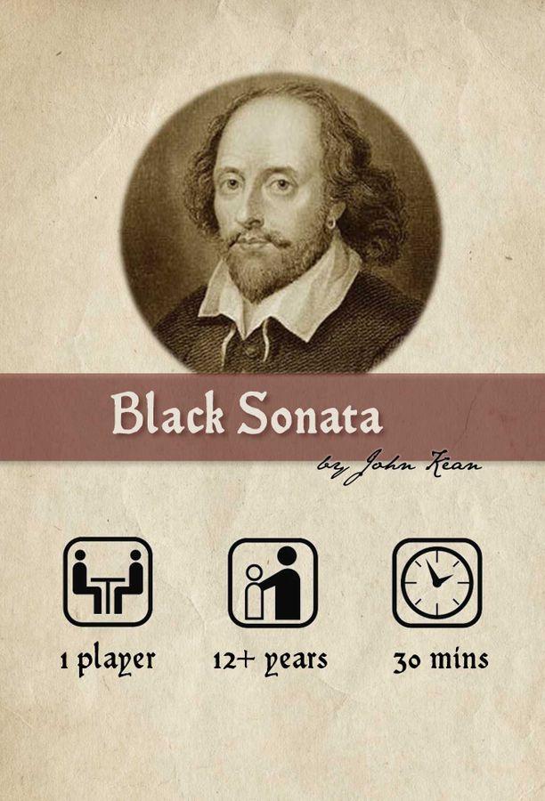 black sonata box art