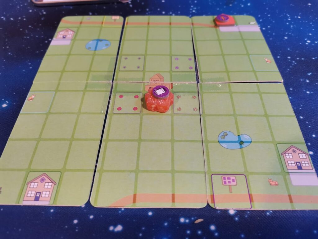 canine capers prototype board