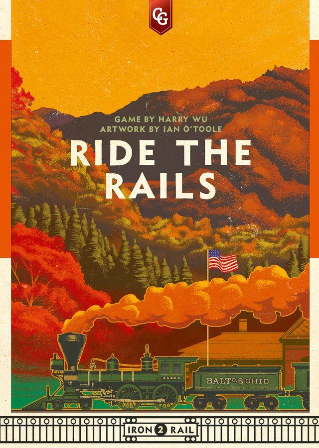 ride the rails box art
