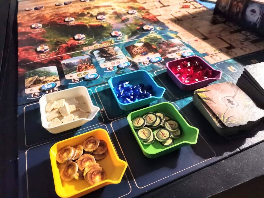 stackable board game bit trays