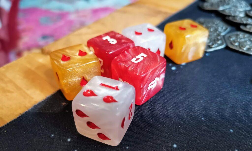 raiders of scythia dice