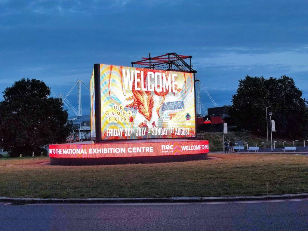 uk games expo billboard