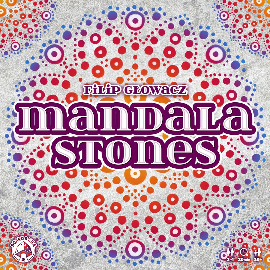 mandala stones box art
