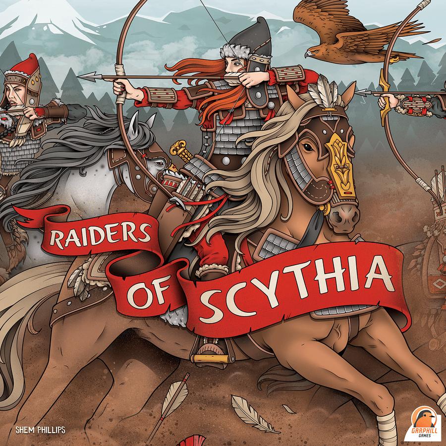 raiders of scythia box art