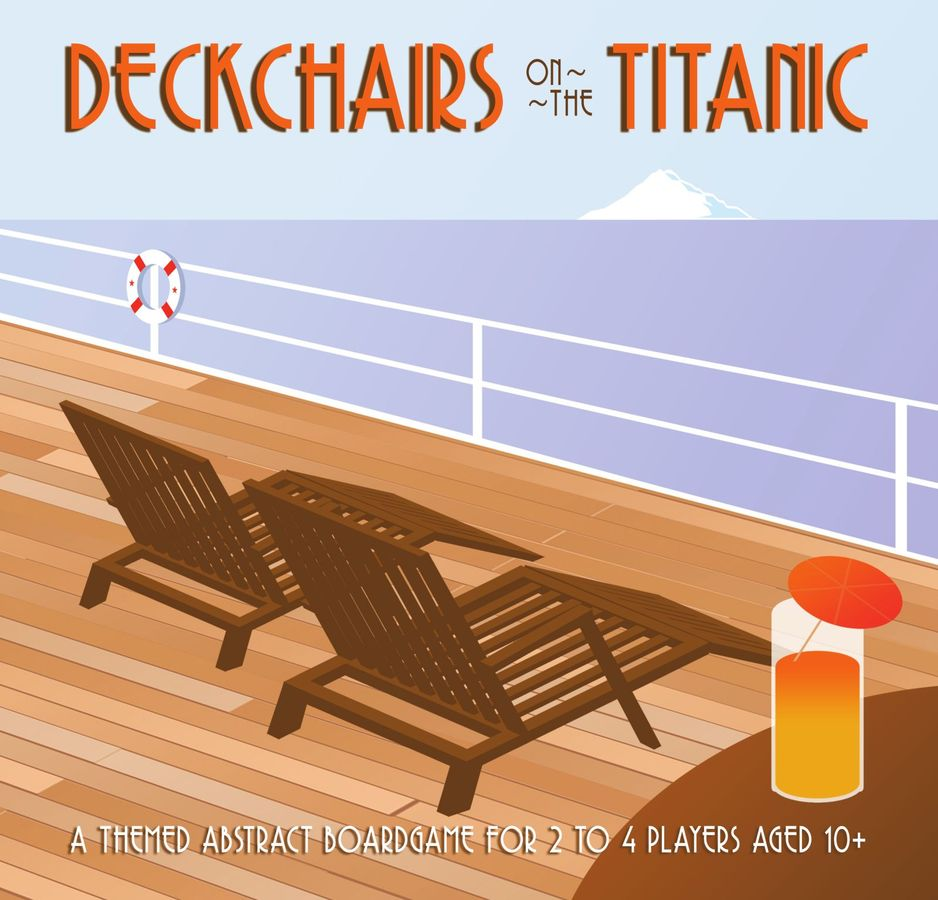 deckchairs on the titanic box art