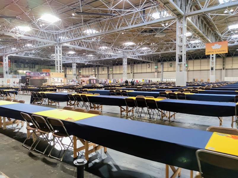 uk games expo open gaming area
