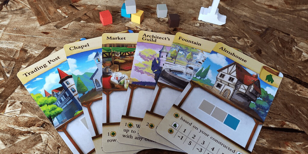 tiny towns buildings cards