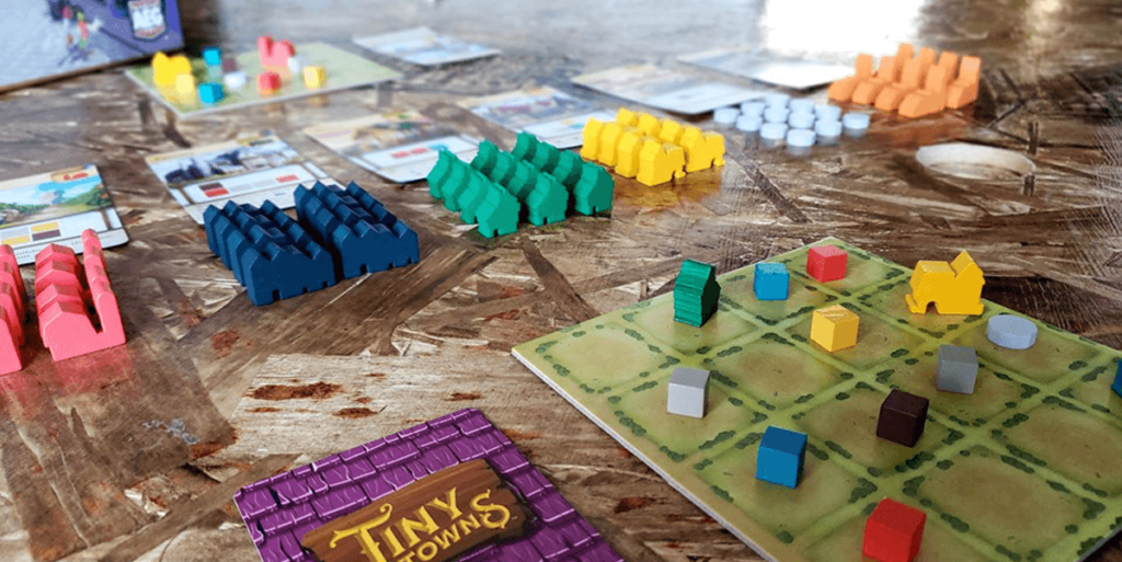 tiny towns in play