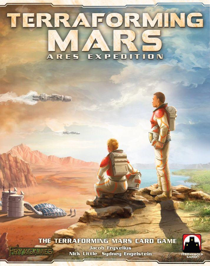 terraforming mars ares expedition box art