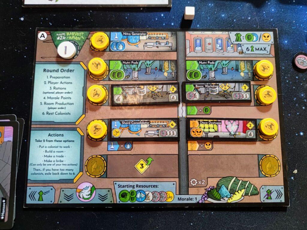 arkosa bunker board